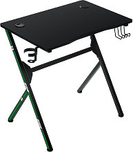 Insma - Computer Desk PC Laptop Gaming Table w/