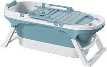 Insma - Foldable Bathtub 140x63x57.4cm Blue wiht