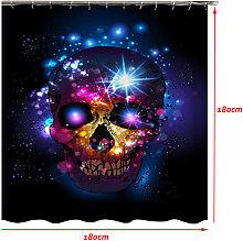 Insma - Halloween Bathroom Decor Skull Waterproof