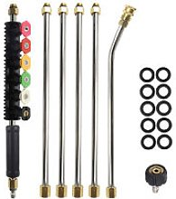 Insma - High Pressure Washer Extension Rod Kit
