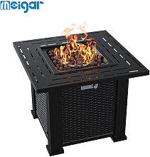 Insma - Square Gas Firepit Patio Heater Garden