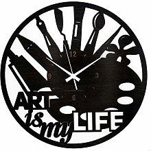 Instant Karma Clocks Wall Clock Large 40x40cm Art