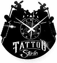Instant Karma Clocks Wall Clock Tribal Tattoo Shop