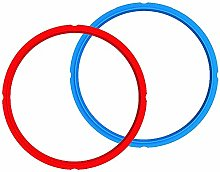 Instant Pot IP Red/Blue Sealing Rings Combo, 8 Qt,