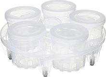 Instant Pot Set Yogurt Maker Cups, Plastic,