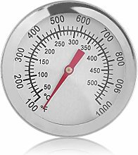 Instant Read Stainless Steel Thermometer BBQ Gauge
