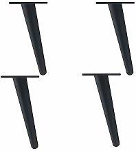 INSTO 4Pcs Tapered Metal Furniture Legs, Sofa