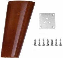 INSTO 4Pcs Wood Furniture Legs, Sofa Legs, Table