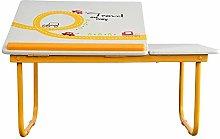 INSTO Laptop Table Folding Students Studying Desk