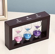 INSTO Sand Timers Modern 3/4/5 Minute Rectangle