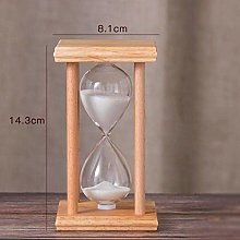 INSTO Sand Timers Wooden Square Frame