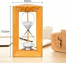 INSTO Sand Timers Wooden Triangle Frame 5/10/15/30