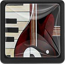 Instrument Music Pinano Guitar, 3 Pcs Crystal