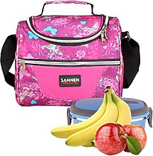 Insulated Cooler Lunch Bags, Kids School Lunch Bag