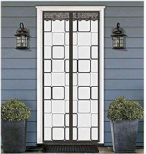 Insulated Door Curtain-Magnetic Thermal EVA Door