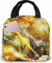 Insulated Lunch Bag Agatsuma Zenitsu Lunch Box