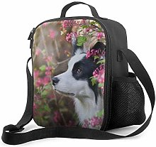 Insulated Lunch Bag Animal Border Collie Cute Dog