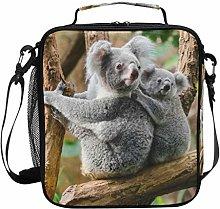 Insulated Lunch Bag Animal Branch Cute Koala