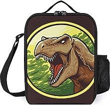 Insulated Lunch Bag Animal Dinosaur Lunch Box