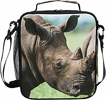 Insulated Lunch Bag Animal Rhino Wildlife Lunch