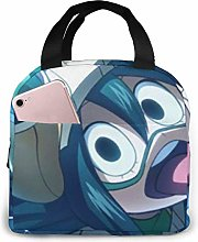 Insulated Lunch Bag Asui Tsuyu Lunch Box Meal Bag