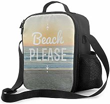 Insulated Lunch Bag Beach Please! Cooler Bag