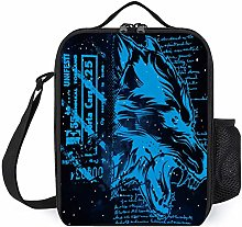 Insulated Lunch Bag Best Cool Electric Blue