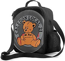 Insulated Lunch Bag Caledon Local 21 Lunch Box