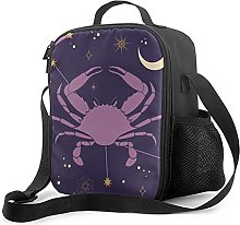 Insulated Lunch Bag Cancer Zodiac Star Sign Lunch