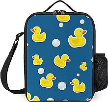Insulated Lunch Bag Cartoon Duck Lunch Box