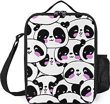 Insulated Lunch Bag Cartoon Panda Lunch Box