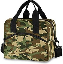 Insulated Lunch Bag Cooler Bag Camo Camouflage