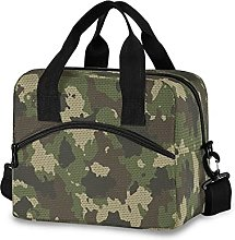 Insulated Lunch Bag Cooler Bag Camouflage Point