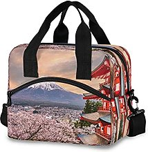 Insulated Lunch Bag Cooler Bag Cherry Blossom