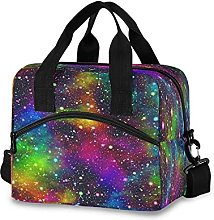 Insulated Lunch Bag Cooler Bag Galaxy Star Planet