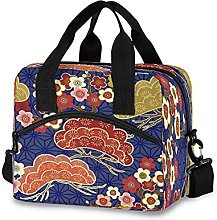 Insulated Lunch Bag Cooler Bag Japanese Cherry