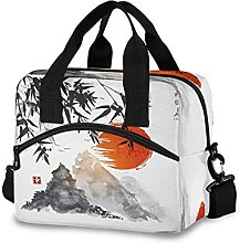 Insulated Lunch Bag Cooler Bag Japanese Mountain