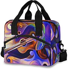 Insulated Lunch Bag Cooler Bag Music Violon Print