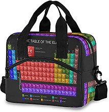 Insulated Lunch Bag Cooler Bag Periodic Table
