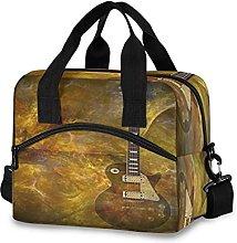 Insulated Lunch Bag Cooler Bag Vintage Music