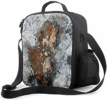 Insulated Lunch Bag Copper Mica Cooler Bag