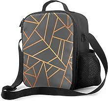 Insulated Lunch Bag Coppergrey Lunch Box with