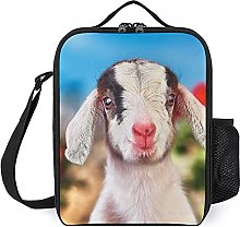 Insulated Lunch Bag Cute Lamb Lunch Box Portable