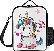 Insulated Lunch Bag Cute Unicorn Lunch Box