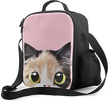 Insulated Lunch Bag Cute with A Cat Motif 4 Lunch