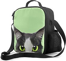Insulated Lunch Bag Cute with A Cat Motif 6 Lunch