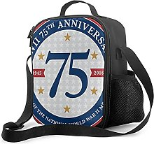 Insulated Lunch Bag D Day 75th Anniversary Lunch