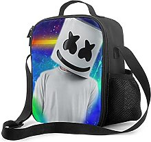 Insulated Lunch Bag Dj Marshmallow Lunch Box with