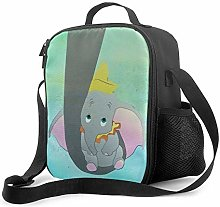 Insulated Lunch Bag Dumbo and His Mom Cooler Bag