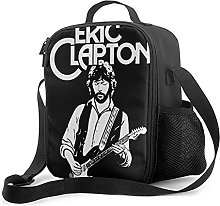 Insulated Lunch Bag Eric_Clapton Lunch Box with